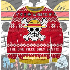 One Piece 3D Print Ugly Christmas Sweatshirt