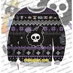 One Piece brook 3D Print Ugly Christmas Sweatshirt