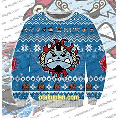 One Piece Jinbe 3D Print Ugly Christmas Sweatshirt