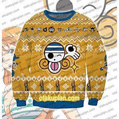 One Piece Nami 3D Print Ugly Christmas Sweatshirt