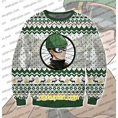 One Punch Man Mumen Rider 3D Print Ugly Christmas Sweatshirt