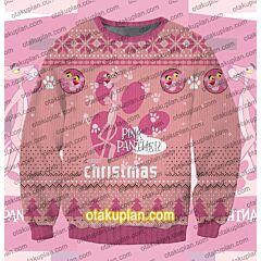 Pink Panther 3D Print Ugly Christmas Sweatshirt