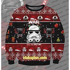 Star Wars Christmas 3D Print Ugly Christmas Sweatshirt
