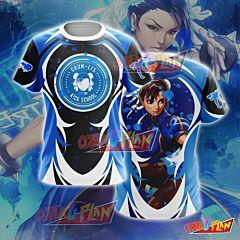 Street Fighter Chun-Li Cosplay T-shirt