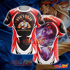 Street Fighter Ryu Cosplay T-shirt