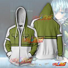 Sword Art Online Sinon Zip Up Hoodie