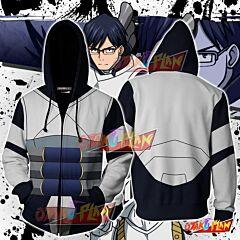 Boku No Hero Academia Tenya Iida Hoodie Cosplay Jacket Zip Up