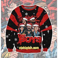 The Boys Season 3D Print Ugly Christmas Sweatshirt