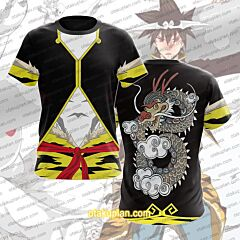 The God of High School Jin Mo-Ri Cosplay T-Shirt