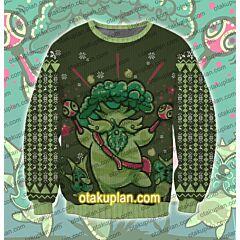 The Legend of Zelda korok 3D Print Ugly Christmas Sweatshirt