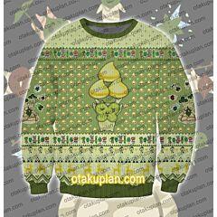 The Legend of Zelda korok seed 3D Print Ugly Christmas Sweatshirt