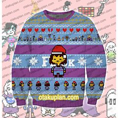 Undertale Frisk 3D Print Ugly Christmas Sweatshirt