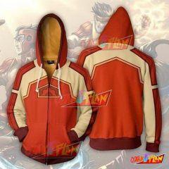 Avatar The Last Airbender Fire Ferret Zip Up Hoodie Jacket