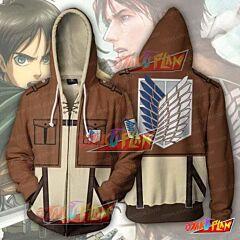 Attack on Titan Hoodie - Eren Yeager Jacket