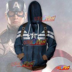 Captain America Hoodie - Classic Jacket
