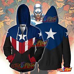 Bucky Captain America Cosplay Hoodie