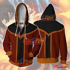 Avatar The Last Airbender Zuko Zip Up Hoodie Jacket