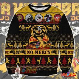 The Karate Kid KKV3 3D Print Ugly Christmas Sweatshirt